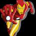 TIME LAPSE - Desenhando Homem de Ferro - com Inkscape