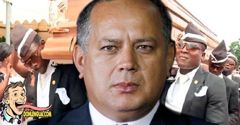 Diosdado Cabello anuncia que tiene COVID y estallan las redes