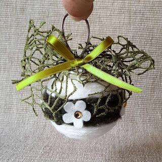 palline natale lana decorazioni pannolenci
