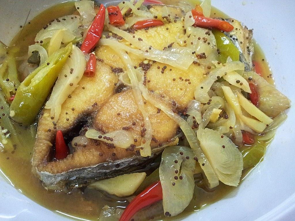 Ikan Tenggiri Masak Cuka Resepi Masakan Malaysia
