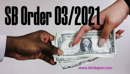 SB order 03/2021 in detail