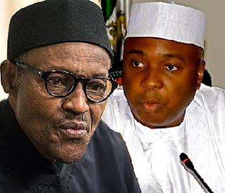 Senate FORGERY: Saraki Fights Back, Buhari Retaliates In Hot 'Salvo'