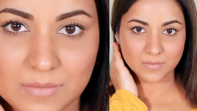 DIY foundation based on natural ingredients and beneficial for the skin