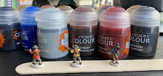 SquadPainter ECW Contrast Paints 15mm Historical Peter Pig Magister Militum
