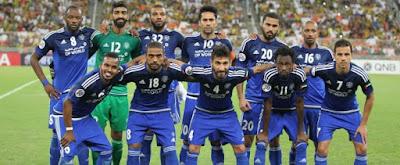 شاهد مباراة الجيش القطرى  والنصر الإماراتى في دوري ابطال اسيا اليوم 14-9-2016