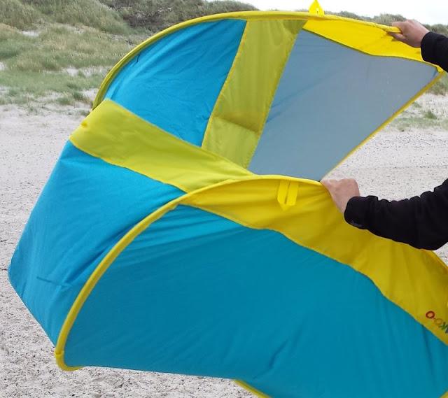 Wir testen zwei Strandmuscheln im Vergleich: Crivit vs. JAKO-O. Kriterien für den Test: Pop-up, Sonnenschutz, Aufbau, Gewicht, Angebot, Packmaß, Hülle, Platz, Familientauglichkeit, Abbau der Strandmuschel. Inklusive Tipps zur Anschaffung bzw. zum Kauf!