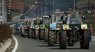 Κινητοποιήσεις αγροτών