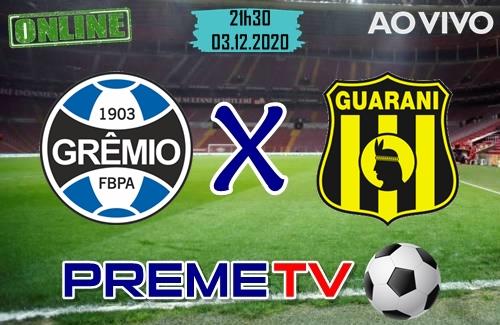 Grêmio x Guarani-PAR Ao Vivo