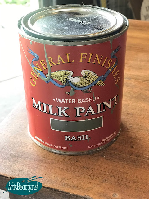 basil general finishes milk paint vintage dresser makeover before