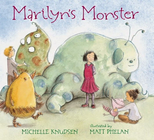 Michelle Knudsen: It's Pub Day for Marilyn's Monster!