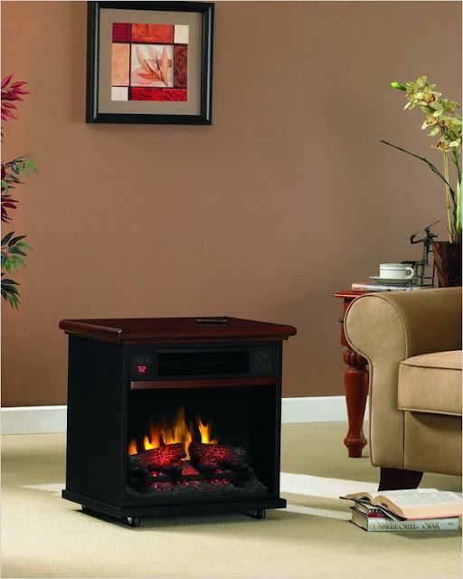 Chimney Free Electric Fireplace Home Interior Exterior Decor Design Ideas