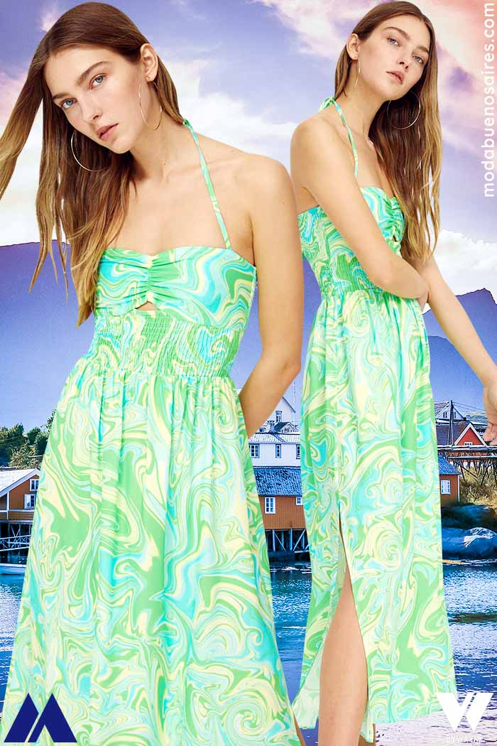 vestidos largos verano 2022