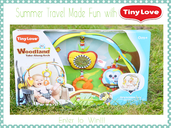 Summer Travel Made Fun with Tiny Love {A Giveaway}