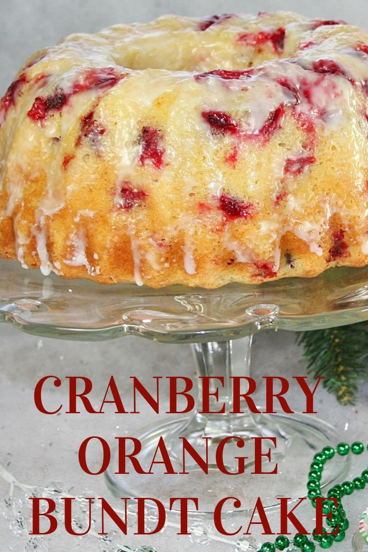CRANBERRY ORANGE BUNDT CAKE {+VIDEO}  #CRANBERRY #ORANGE #BUNDT {+#VIDEO} #CAKE #DESSERTS