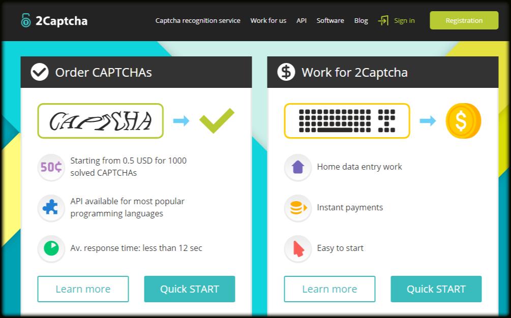 Bitcoin captcha work
