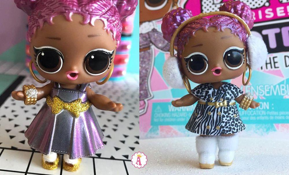 Кукла Лол Сюрприз Snow Jamz и ее наряды из набора #OOTD Winter Disco