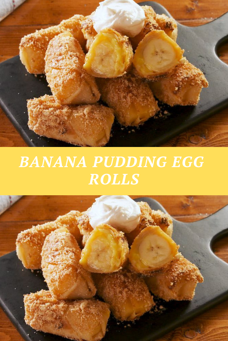 #Banana #Pudding #Egg #Rolls