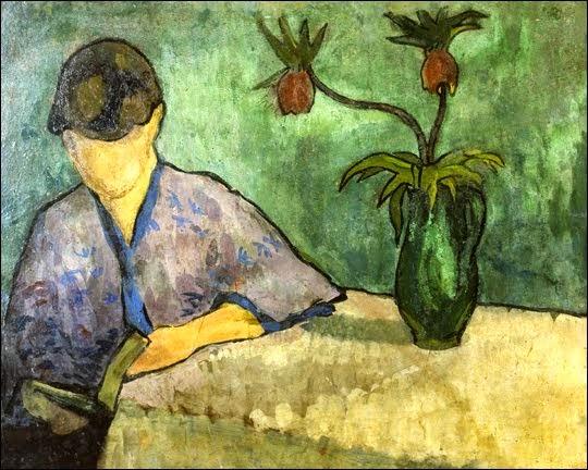 Laitura da Menina com Quimono - Émile Bernard e suas principais pinturas