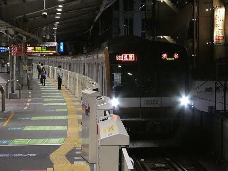 東急東横線 通勤特急 元町・中華街行き7 東京メトロ10000系