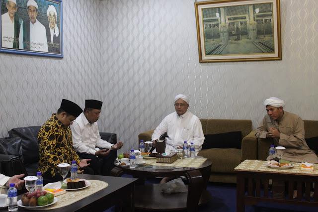 Menteri Riset, Teknologi dan Perguruan Tinggi Kunjungi Pondok Pesantren Darullughah Wadda'wah