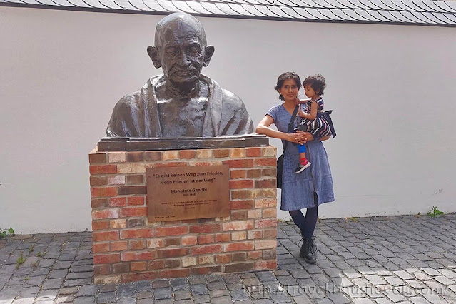 Free things to do in Trier - Gandhiji Statue