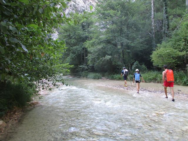 Aproximación río La Vansa