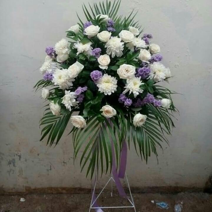 Karangan Bunga Standing Flowers 014