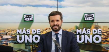 """Pablo Casado:""""No me temblará el pulso si tengo que actuar si se demuestra que Mariano Rajoy conocía la caja B del PP"""""""