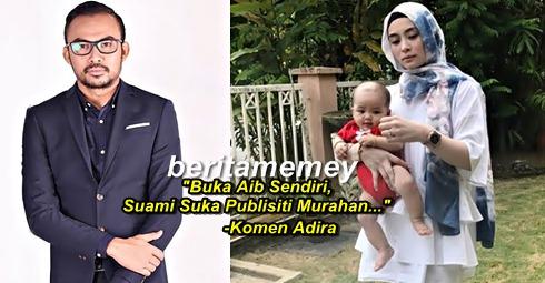 """""""Buka Aib Sendiri, Suami Ingin Raih Publisiti Murahan..."""" - Komen Adira Tentang Dato Red"""