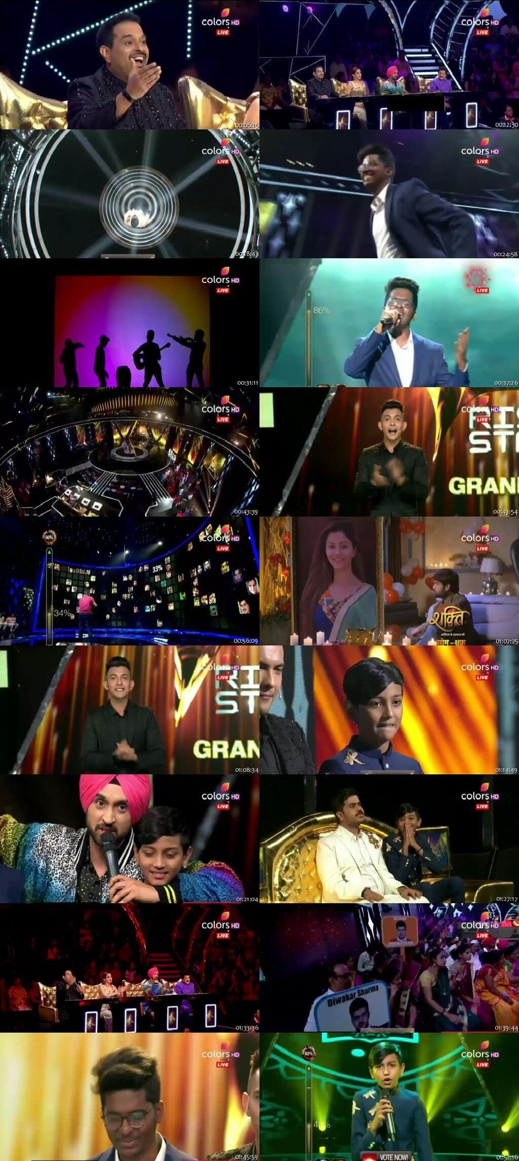 Screenshots Of Hindi Show Rising Star 8th June 2019 Episode 24 300MB 480P HD