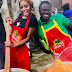 BBNaija: Khafi Feeds 1000 Nigerians In Ajegunle Lagos On Independence Day (Video, Photo)