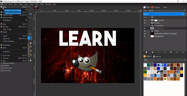 Alternatif Aplikasi Desain Grafis Gimp