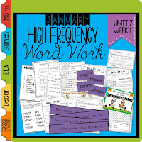 These Word Family activities will surely be a hit in your elementary classroom!  There are comprehension and writing activities, word family handouts, Powerpoint to introduce words, and word family games.  Check out my blog post to get a word family freebie!