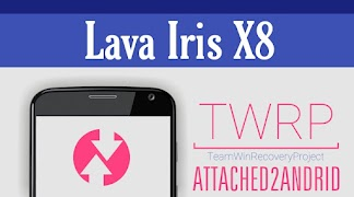 TWRP V3 1 0 - Gray Material Recovery For Lava Iris X8