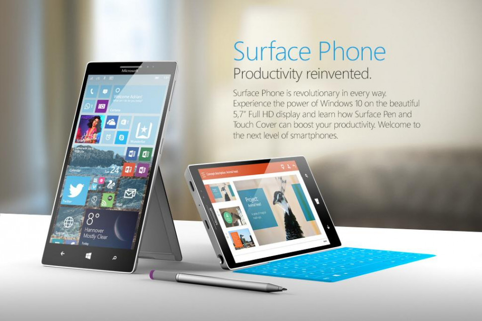 Microsoft Surface Phone HTNovo