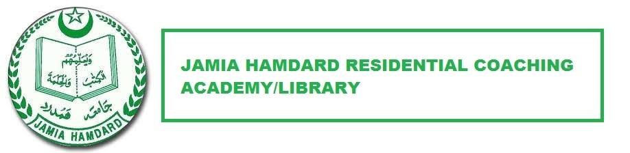 Jamia Hamdard Residential Coaching Academy