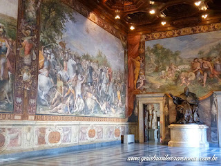 sala oracios curiacios museus capitolinos guia brasileira - Museus Capitolinos, os museus mais antigos do mundo