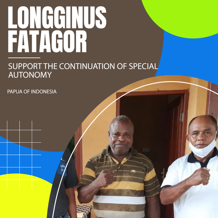 Longginus Fatagor Supports Otsus Continuously
