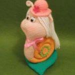 patron gratis caracol amigurumi | free amigurumi pattern snail