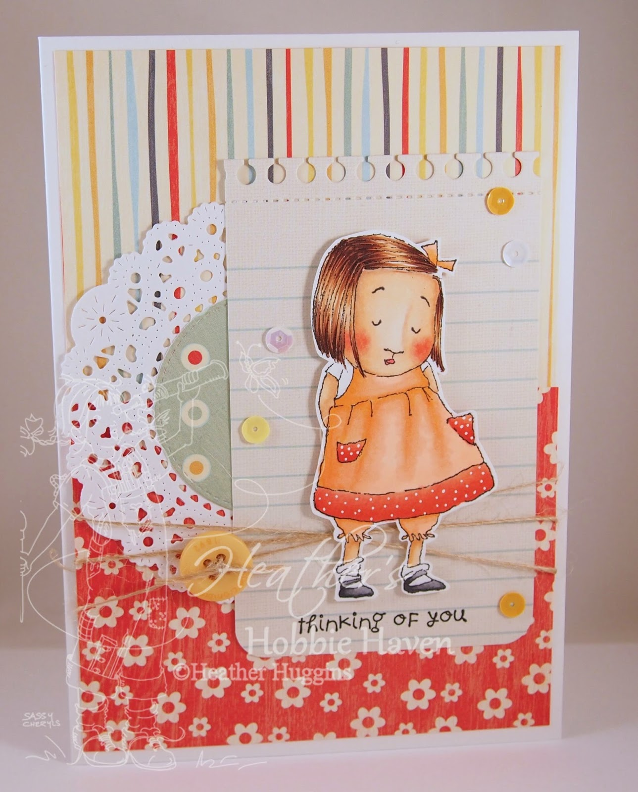 Heathers Hobbie Haven - Gracie Card Kit
