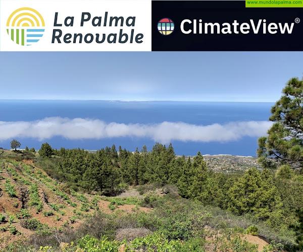 La Palma Renovable presenta este viernes la herramienta ClimateView para el desarrollo de la agenda de transición energética de La Palma
