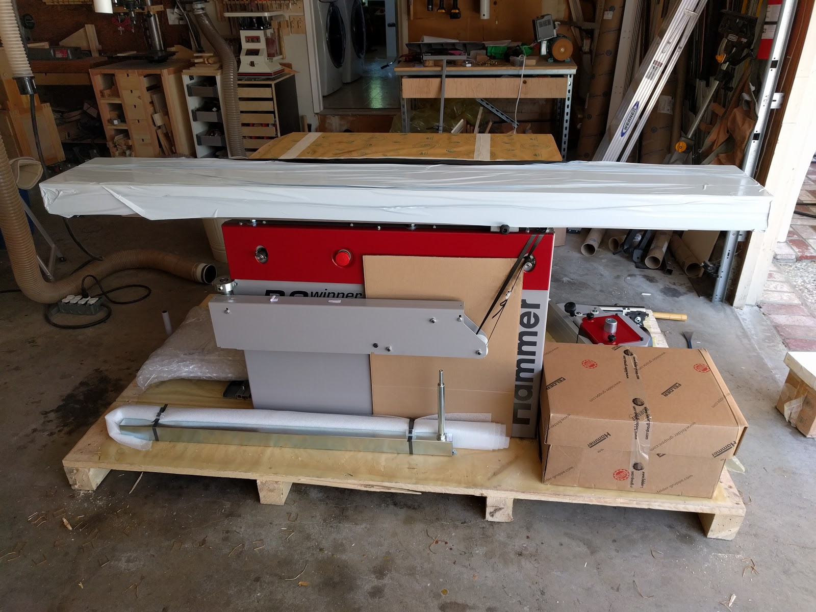 Sawstop Professional Cabinet Saw Review Part 1 Cabinets
