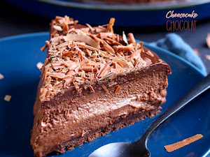 Cheesecake au chocolat 2000% gourmand !