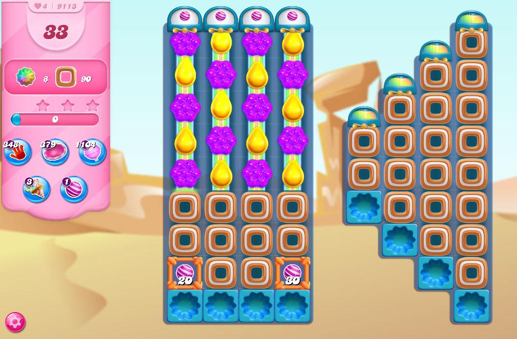 Candy Crush Saga level 9113