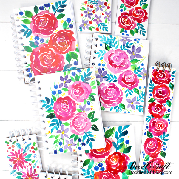 I love making handmade gifts for the holidays and The Cinch Binding Tool is the perfect way! I'll show you how to make your own notebooks for a great handmade gift, stocking stuffer, planner for the new year, or just because! Make a wire bound notebook in just a few minutes.
