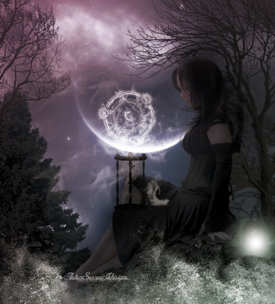 Wiccan Moonsong Daily Message November 28 2012 Full Mourning Moon Blessings