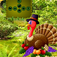 Games2Rule -Pumpkin Turkey Forest Escape