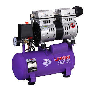 Kompresor-lakoni-basic-9s-3/4-hp-oilles-harga-dealer-air-compressor