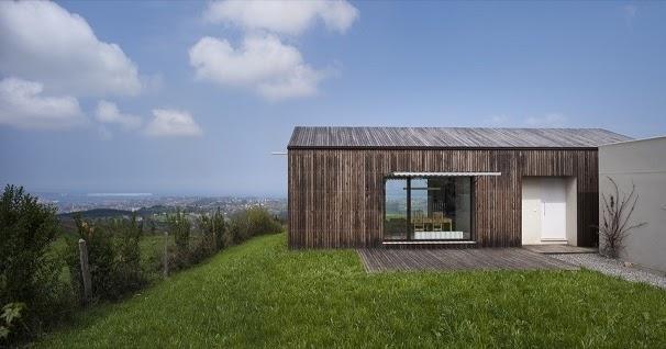 Casas minimalistas y modernas casa bioclimatica y - Casas minimalistas en espana ...