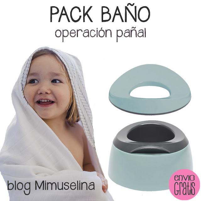 operación pañal quitar pañales bebés blog mimuselina reductuor de wc orinal aprendizaje